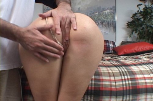 Fingering and spanking